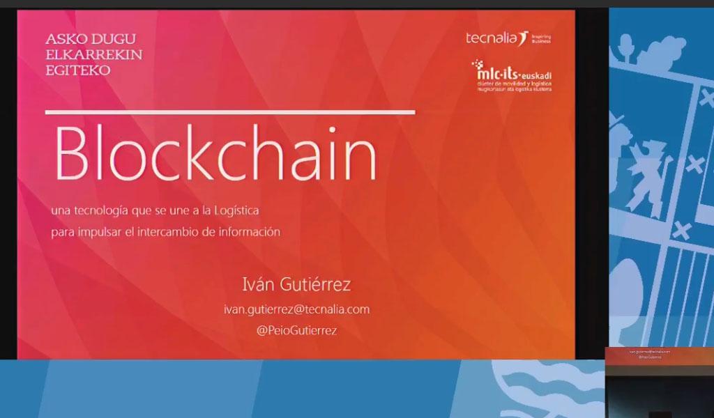 Blockchain aplicado a Logística
