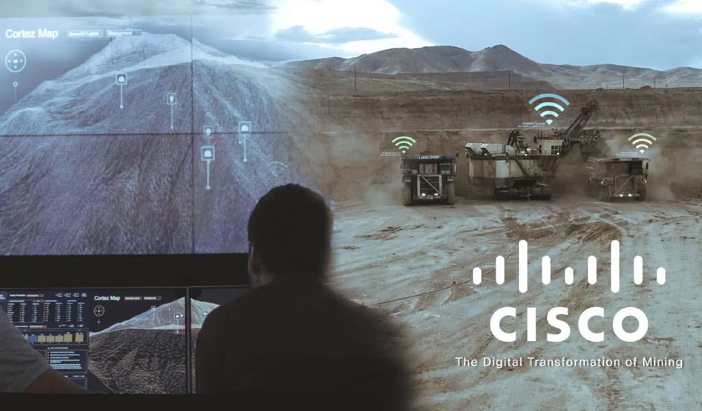 Diferenciadores tecnológicos de Cisco para la Industria Minera