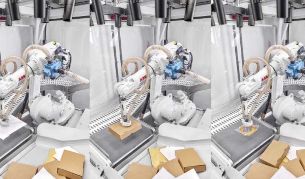 ABB presenta la primera solución de gestión de pedidos de almacén totalmente autónoma