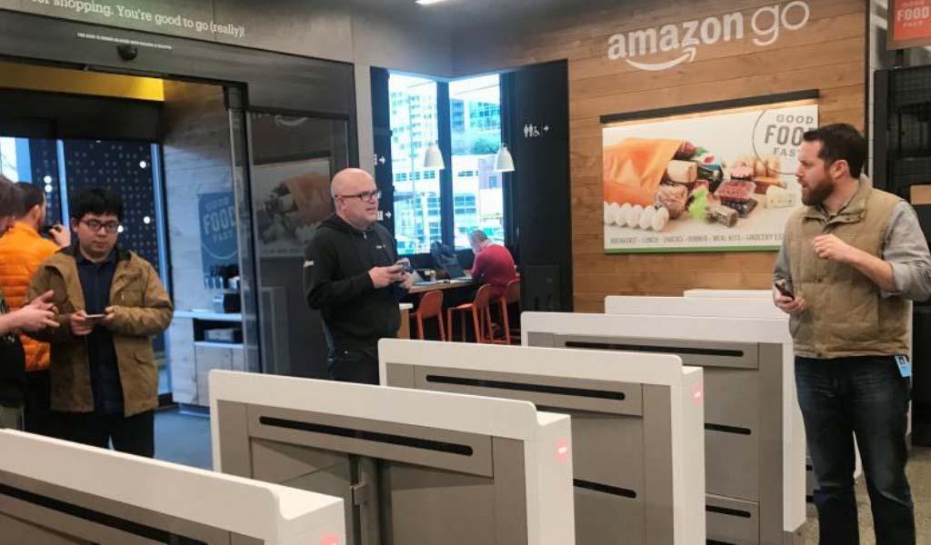 Amazon comienza a vender su tecnología de pagos sin cajeros