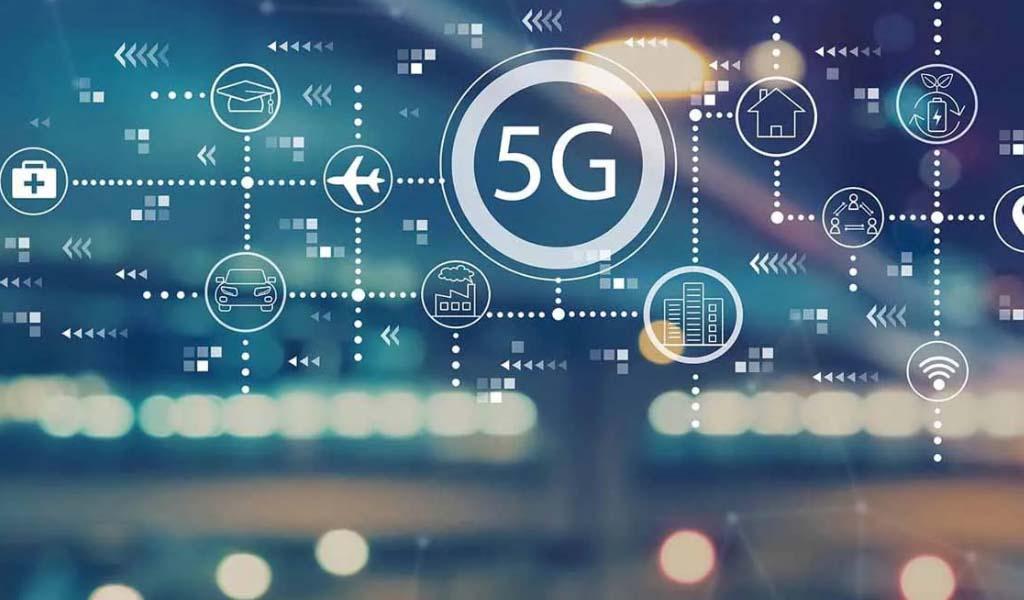 El primer sitio de construcción 5G de China