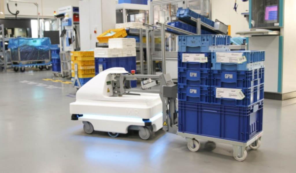 Robots móviles para impulsar las cadenas de suministro en un mundo pos-COVID