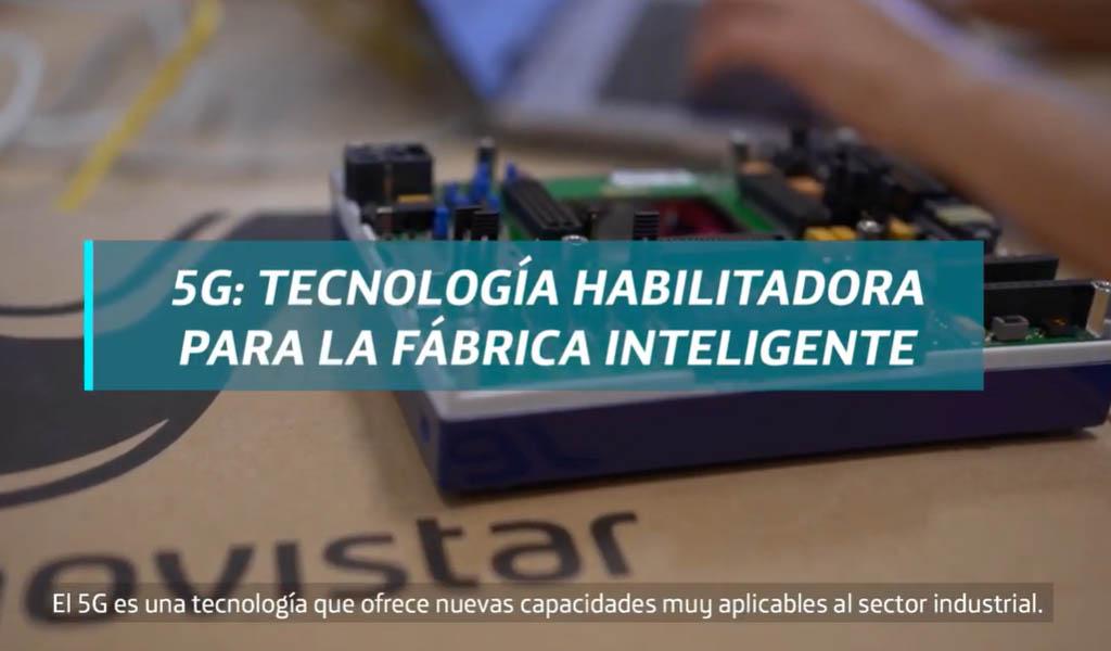 5G: tecnología habilitadora de la smart factory