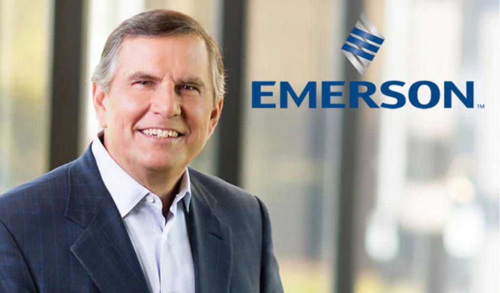 El CEO de Emerson, David Farr, anuncia retiro y reemplazo