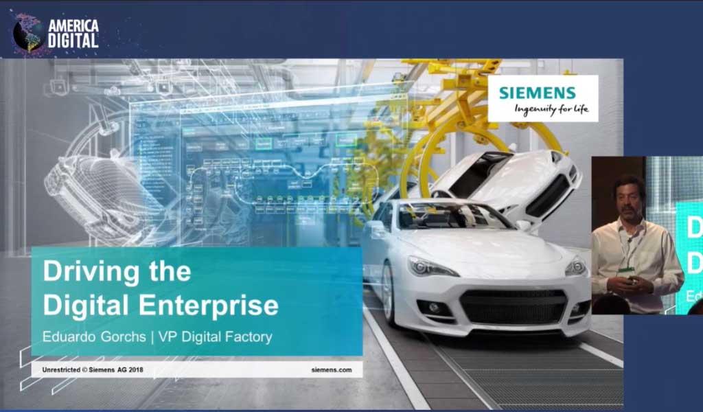 Gemelos Digitales de Siemens llegan para revolucionar la industria 4.0