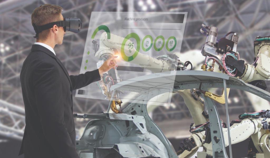 Los beneficios del aumento de tecnología humana en la fabricación