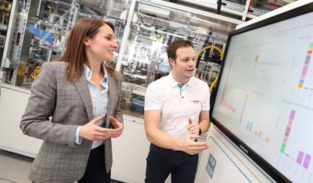 Bosch combina Industry 4.0 con IA