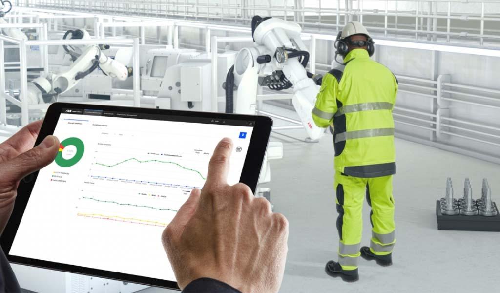 ABB RobotStudio mejora la seguridad y reduce el tamaño de la célula robótica hasta en un 25%