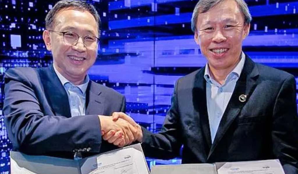 Hyundai / Singtel avanzan en la movilidad inteligente y la industria 4.0