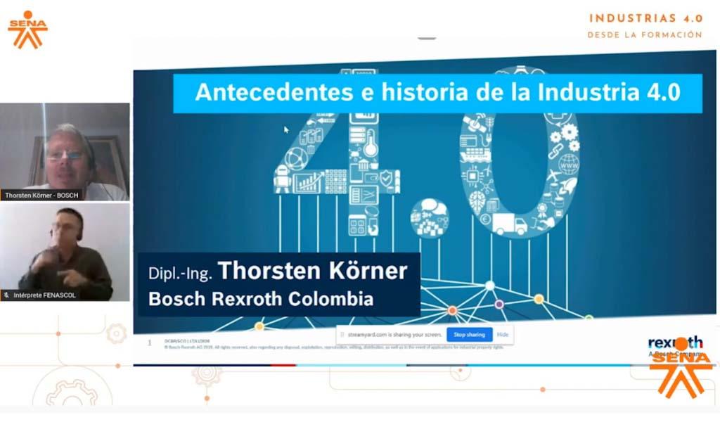 #FuturoDigital I Conversatorio: Antecedentes e Historia de la Industria 4.0 - SENA