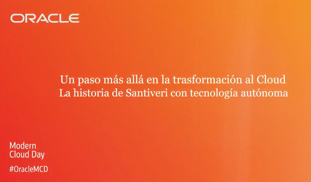 Transformación digital: el caso de Santiveri con tecnología autónoma